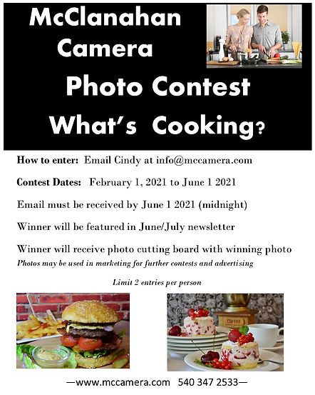 whats cooking photo contest to june 1 20