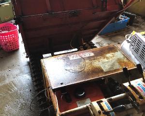 運搬車キャブ清掃とコンバイン買取!!北茨城市で農機具買取といえば!!