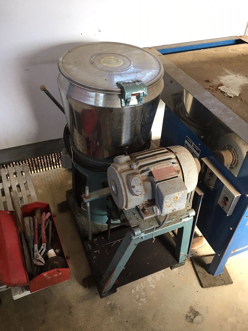 麺切り機械