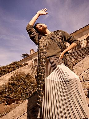 139660 Sidsel Knit - 139020 Morella Plisse Skirt - 139590 Elvina Quilted Down Waistcoat.jp