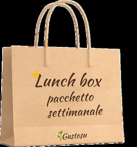 Lunch box - pacchetto settimanale