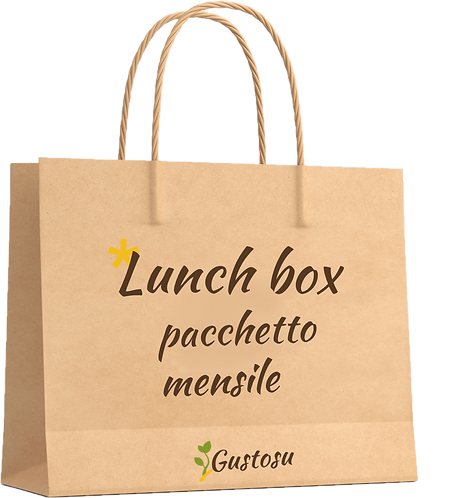 Lunch box - pacchetto mensile