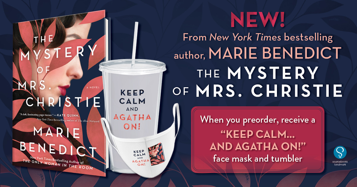 Mystery of Mrs. Christie by Marie Benedict