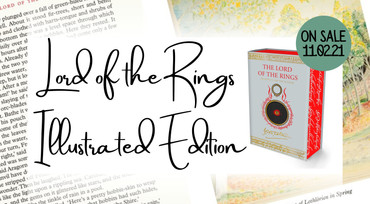 Lord of the Rings Illustrated Edition by J. R. R. Tolkien