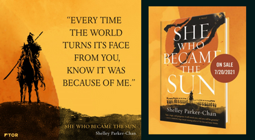 She Who Became the Sun by Shelly Parker-Chan