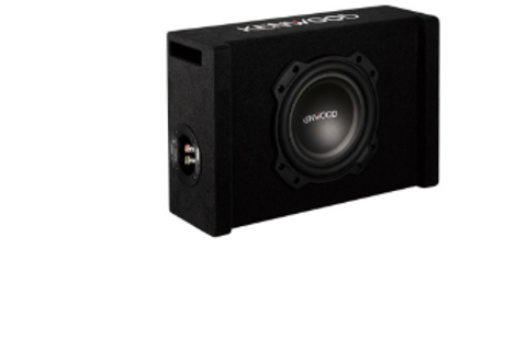 "Kenwood P-W804B 8"" Oversized Subwoofer in Ported Enclosure"