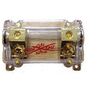 Sky High Car Audio 1/0 Gauge Waterproof ANL Fuse Holder (Set Screw)