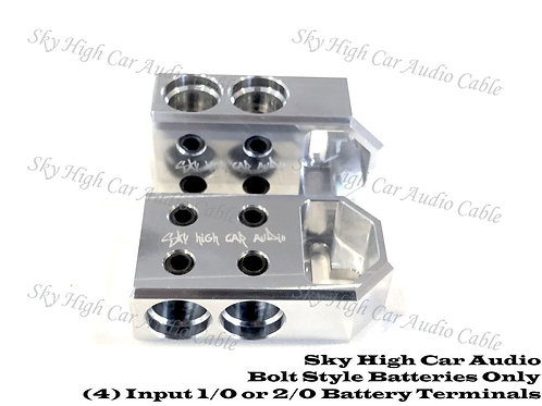 Sky High Car Audio 4 - 1/0 or 2/0 Battery Terminals