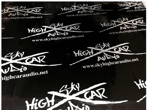 Sky High Car Audio 80Mil Sound Deadener 16.5-99 sq ft starting at