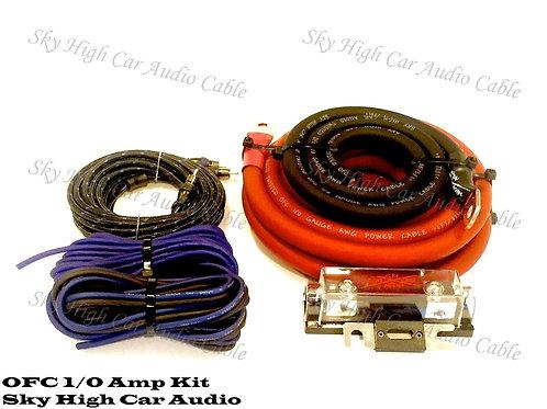 Sky High Car Audio 1/0 OFC Amp Kit