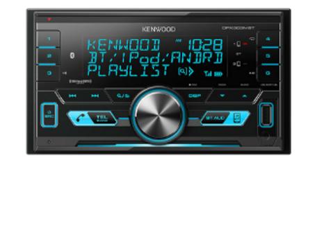 Kenwood DPX303MBT 2-Din Digital Media Receiver with Bluetooth