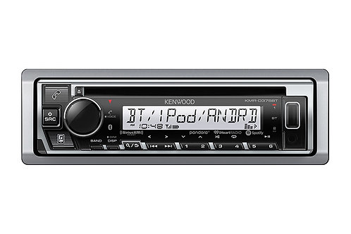 Kenwood KMR-D375BT Marine/Motorsports CD Receiver with Bluetooth