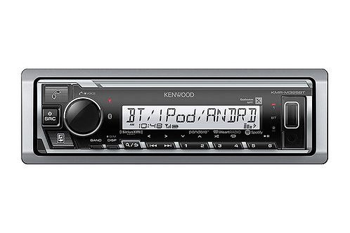 Kenwood KMR-M325BT Marine/Motorsports Digital Media Receiver with Bluetooth