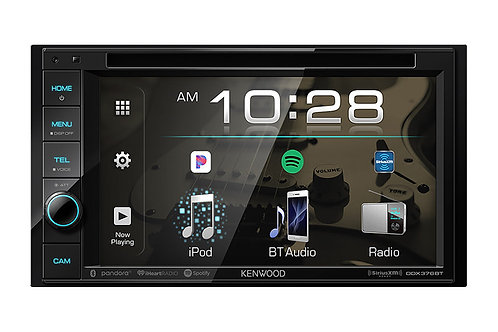"Kenwood DDX376BT 6.2"" DVD Receiver with Bluetooth"