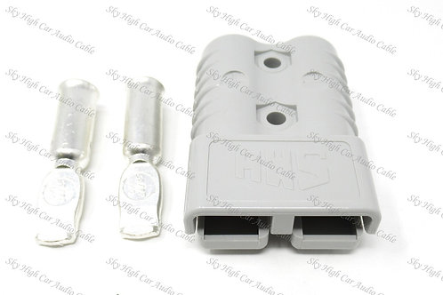 175a/600v Single Connector W/ Contacts 4GA