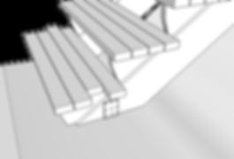 Stegbrädor till trapp