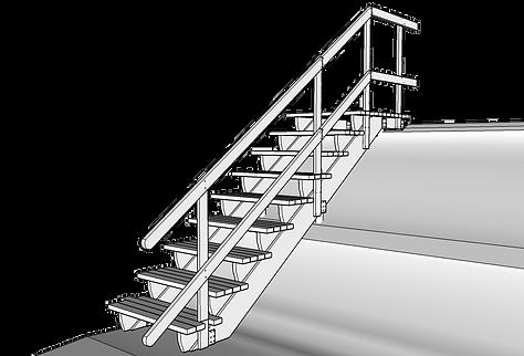 Nedre underliggare trappa