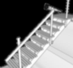 Överliggare till trappa