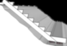 trappa i slänt