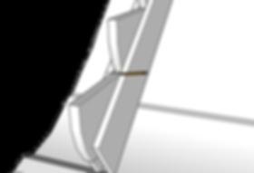 Steghållare trappa