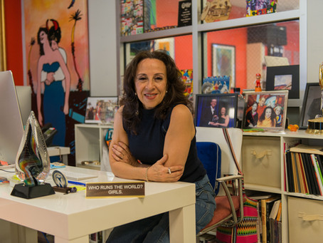 My podcast interview with Maria Hinojosa!