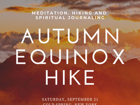 Join Me On a Grounding Hike!