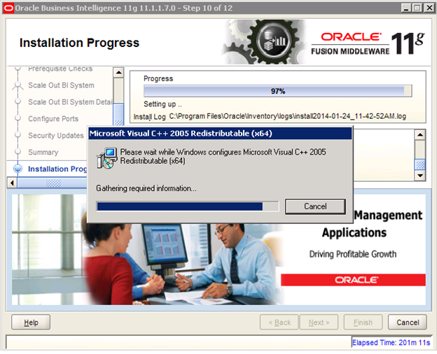 OBIEE 11g scale out Installation step by step on windows servers