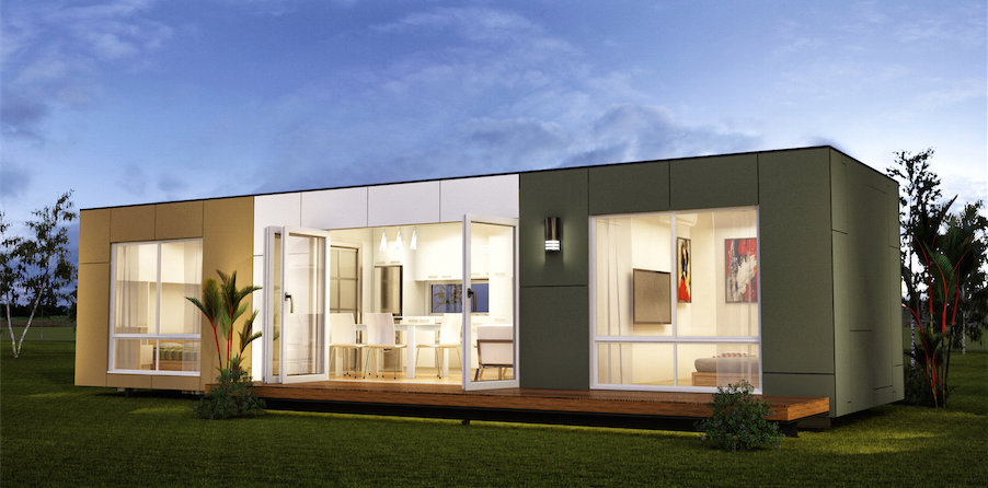 Calgary Hybrid Home Modern Construction | Kubix