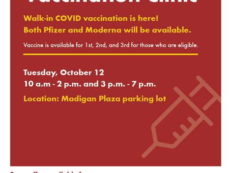 Mobile Walk-in Vaccination Clinic