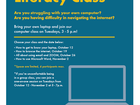 Basic Computer Literacy Class