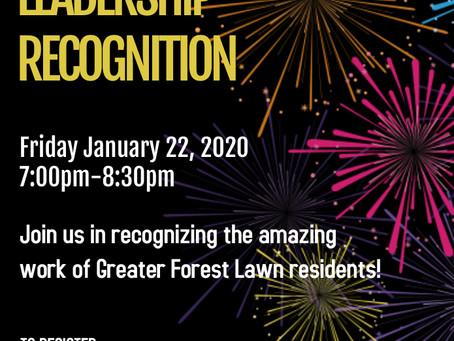 2020 Virtual Leadership Recognition January 22