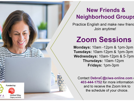New friends &  neighborhood groups