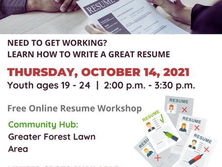 Is your Resume working for you oct 14