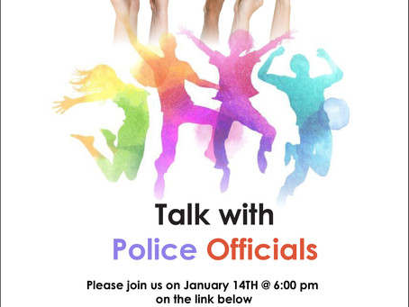Youth Talk with Police Officials January 14