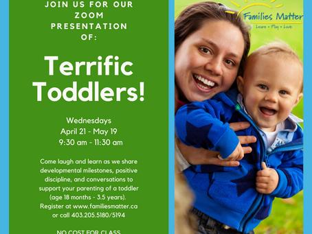 Families MatterTerrific Toddlers