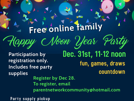 Free Online Family  Happy Noon Year Party