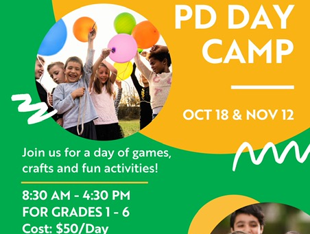 1000 Voices PD Day CAMP