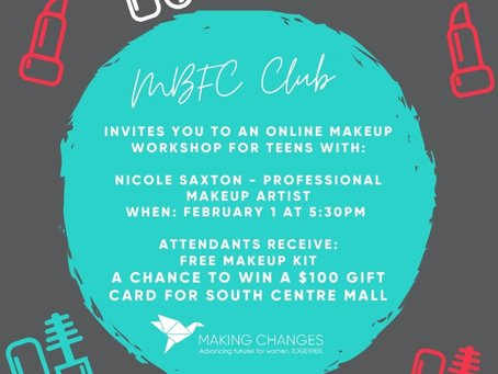 Online makeup for youth aged 13-20