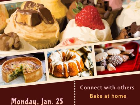 Virtual Baking Party January 25