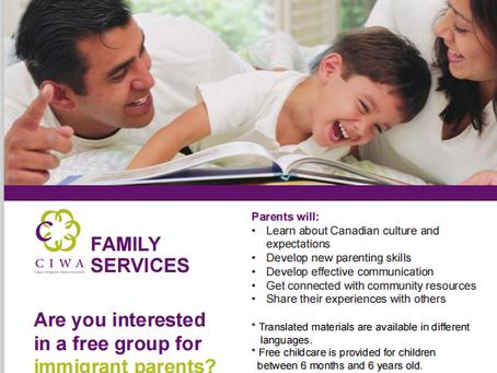 CIWA Cross Cultural Parenting Program