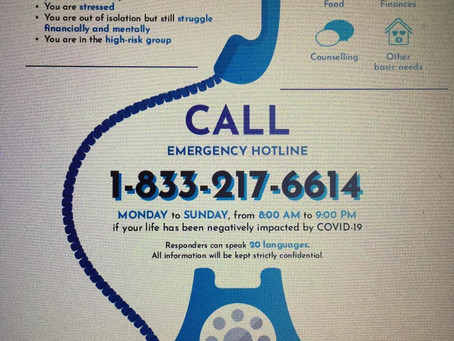 Emergency Hotline Support Available