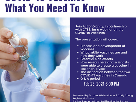 COVID-19 Vaccines: What you need to know FEB 23