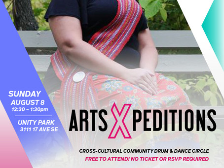 Community Drum and Dance Circle: Aug 8th 12:30-1:30pm at Unity Park