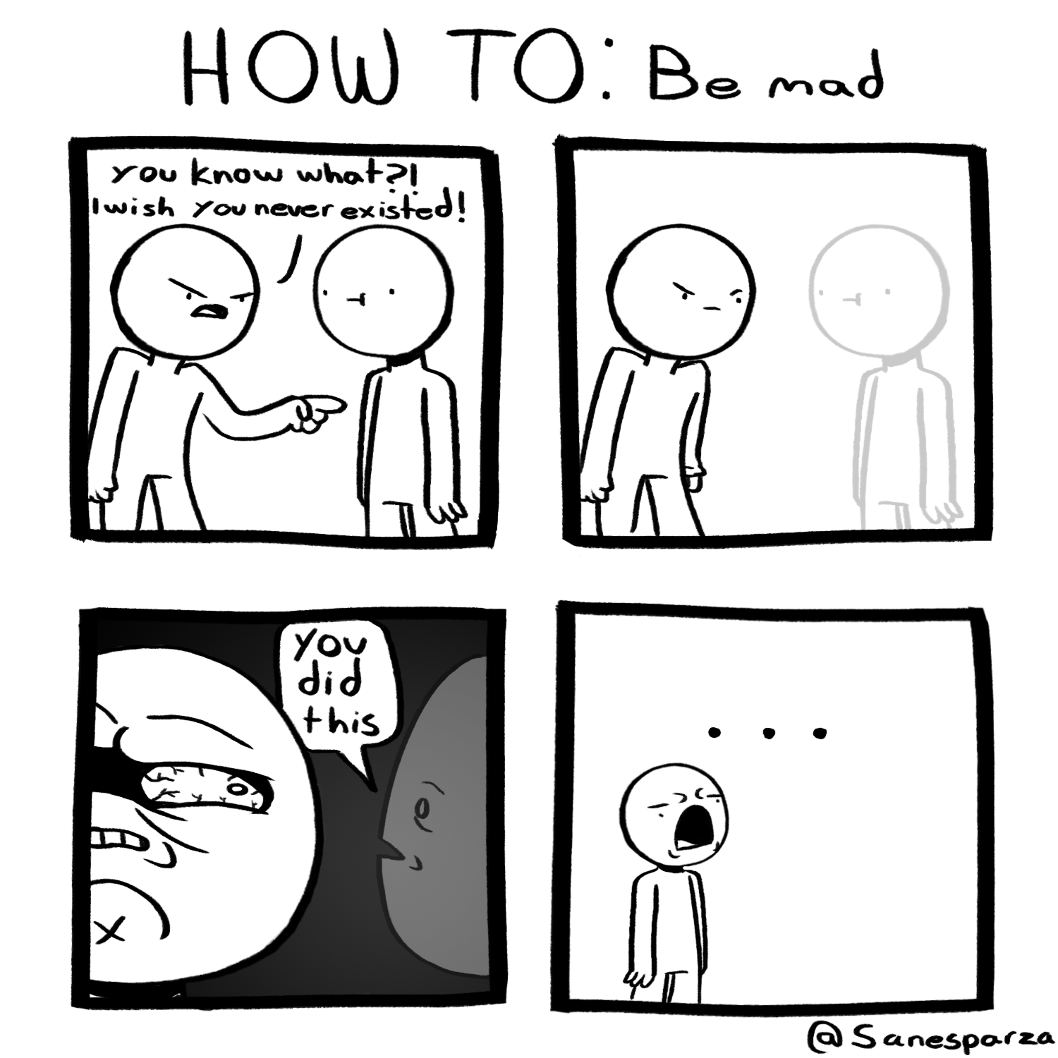be mad