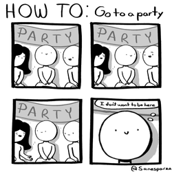 go to a party