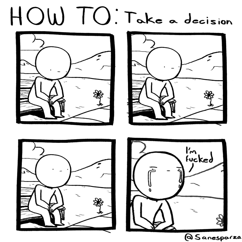 take decisions