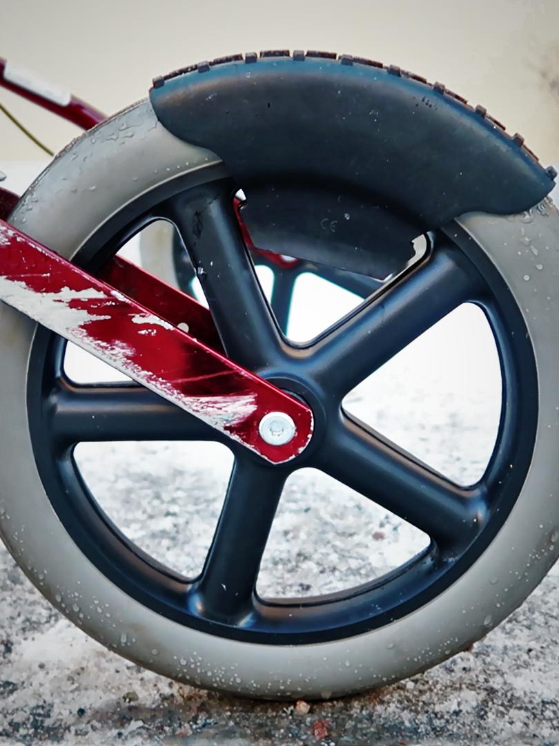 Rollatorbrodd på däcket