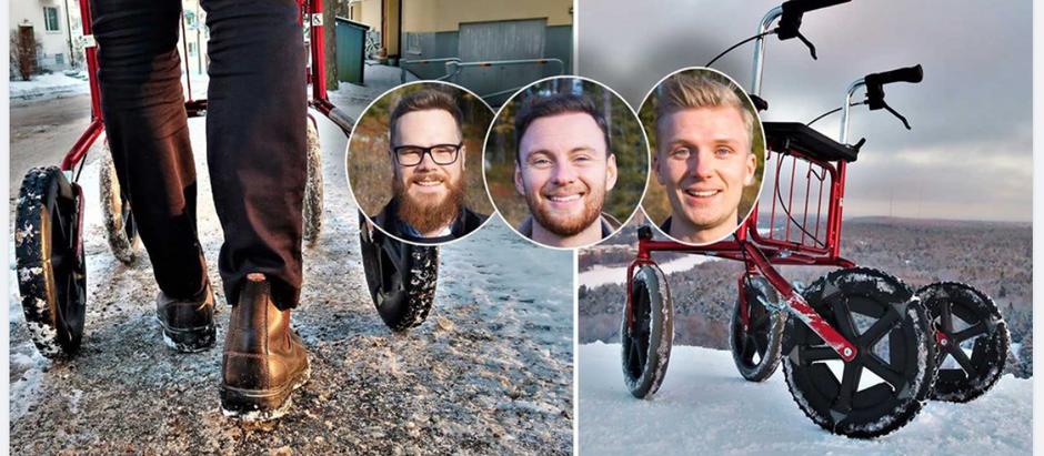 "Aftonbladet skriver om Rollatorbroddar - ""Genial idé"""