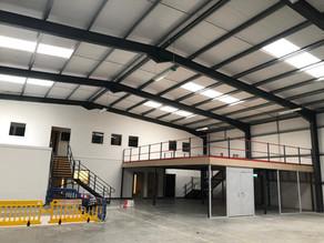 Construction of multiple-unit industrial estate