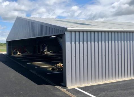 Silverstone Race Track - car storage